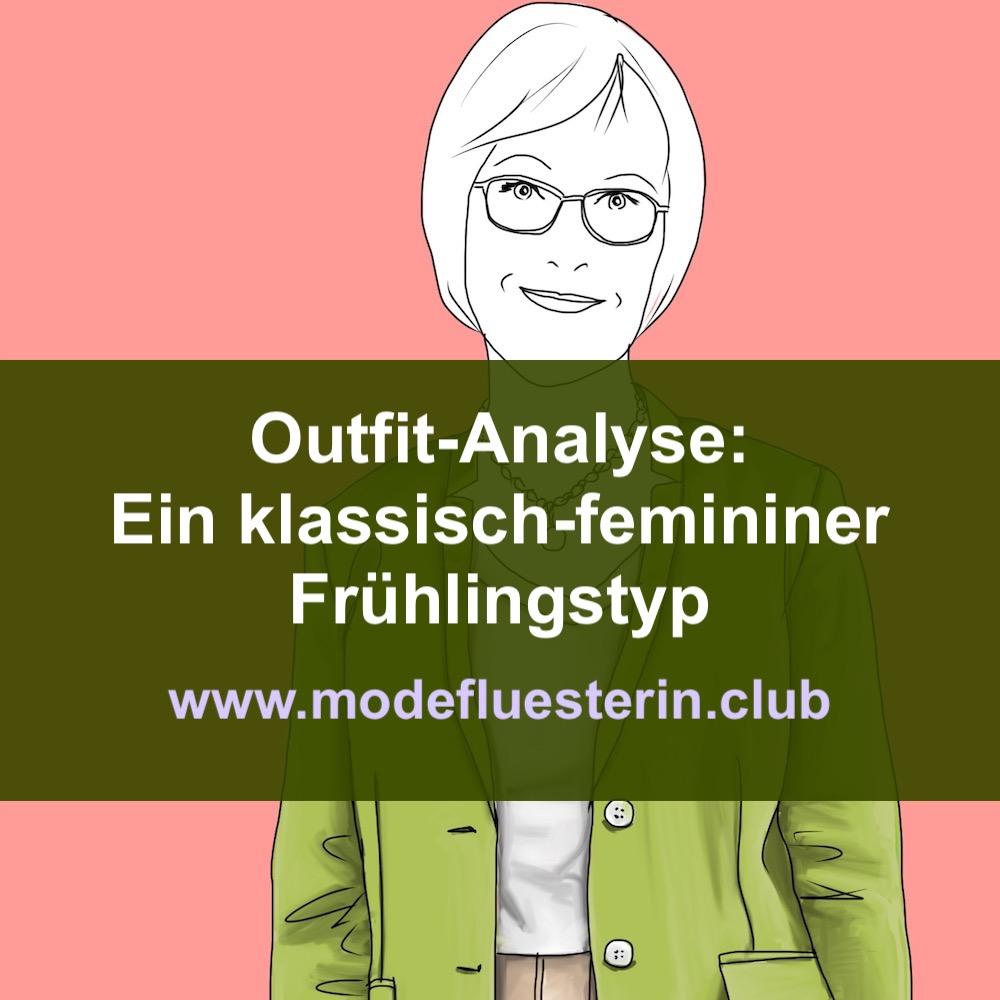 Klassich-femininer Frühlinsgtyp - eine Outfit -Analyse mit Hosen- und Rock-Outfit