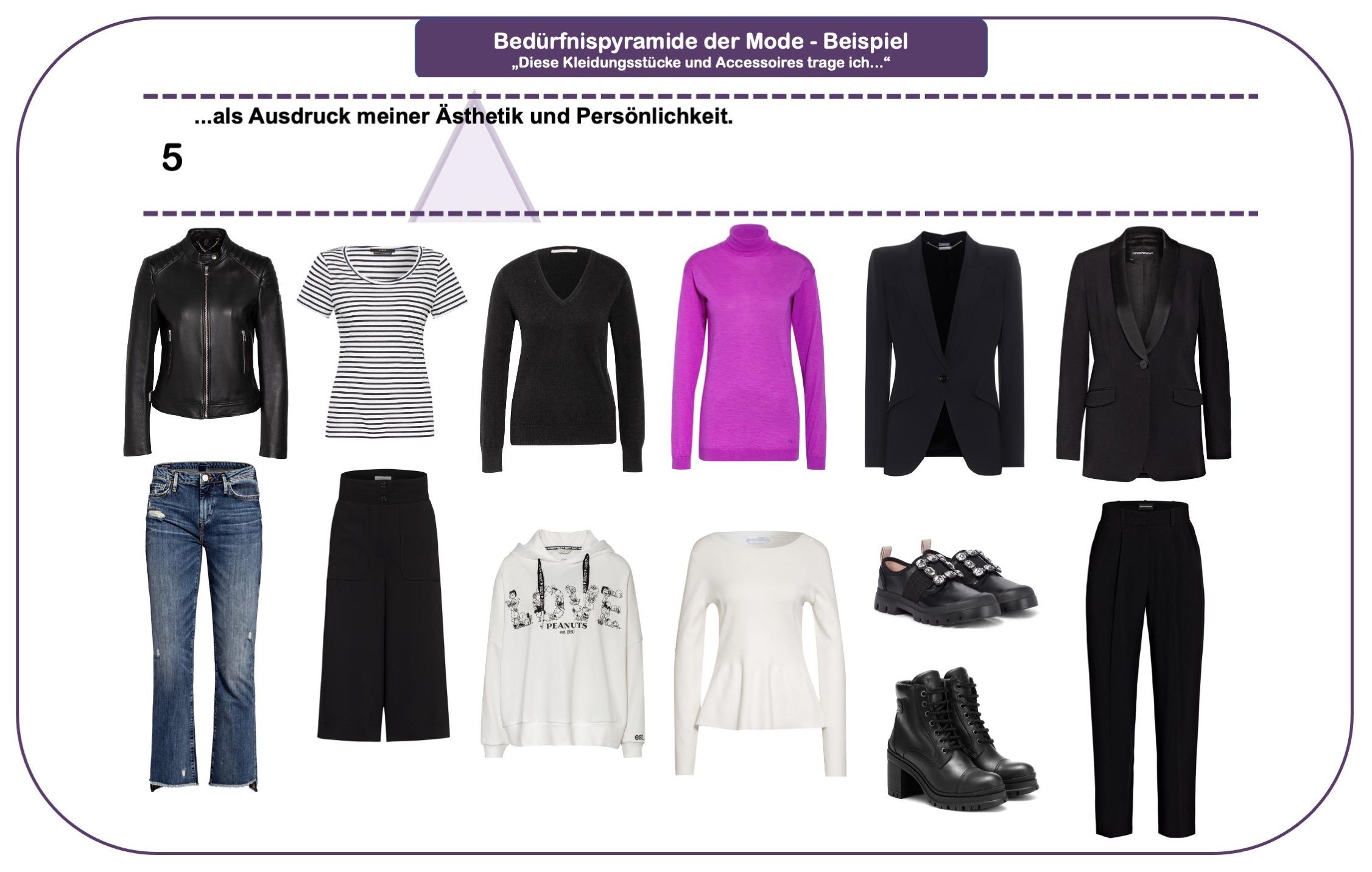 Wie wichtig ist Mode - Bedürfnispyramide - Teil 5
