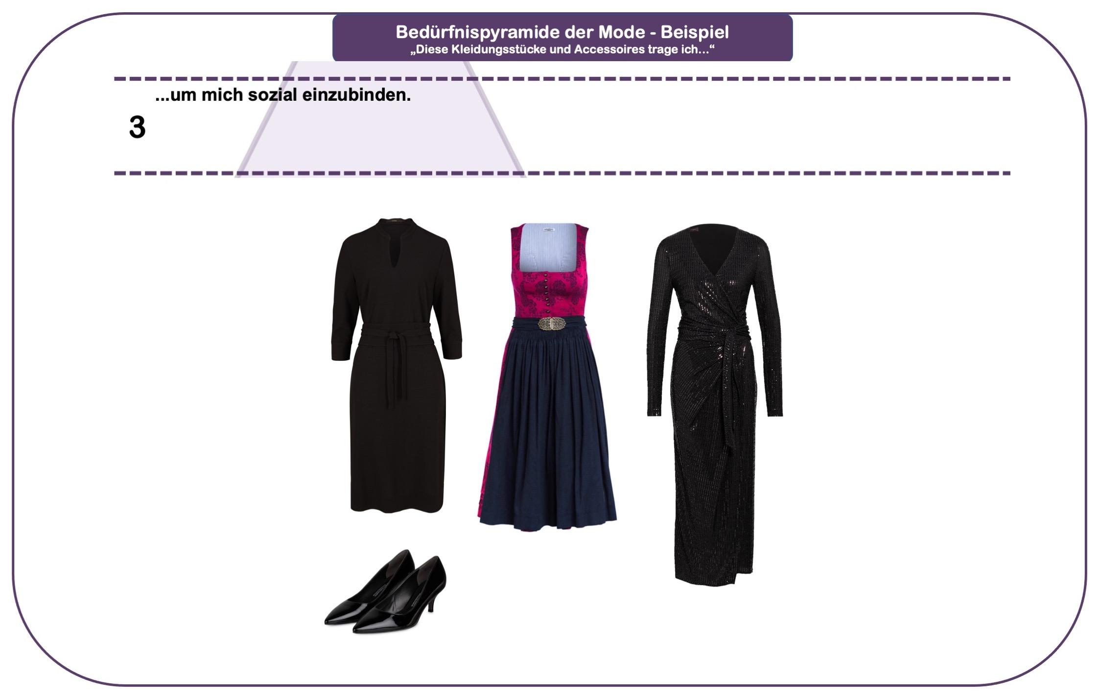 Wie wichtig ist Mode - Bedürfnispyramide - Teil 3