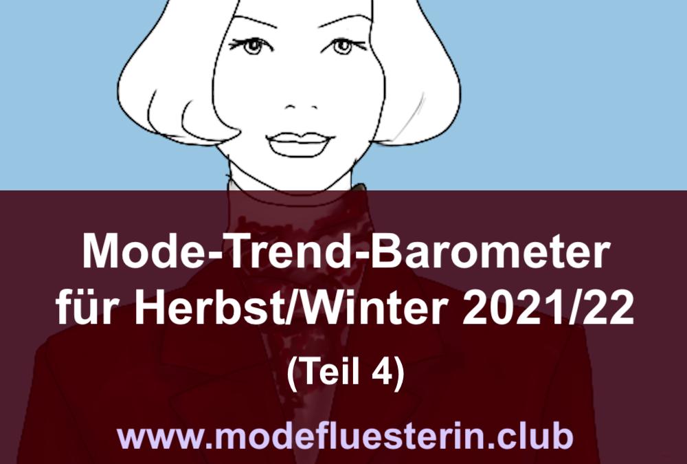 Modetrends für Herbst und Winter 2021/22: Zwischen Kuschelmodus und Partylaune