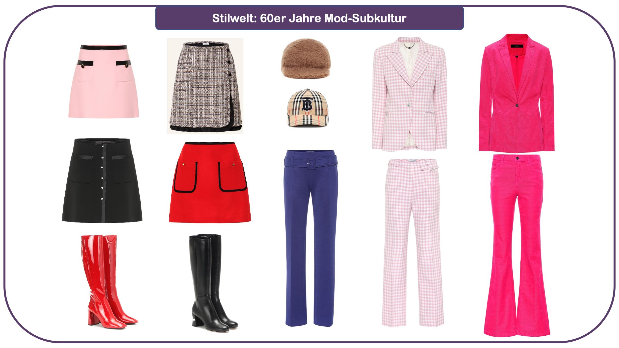 Modetrends für Herbst und Winter 2021/22 - Mod-Subkultur