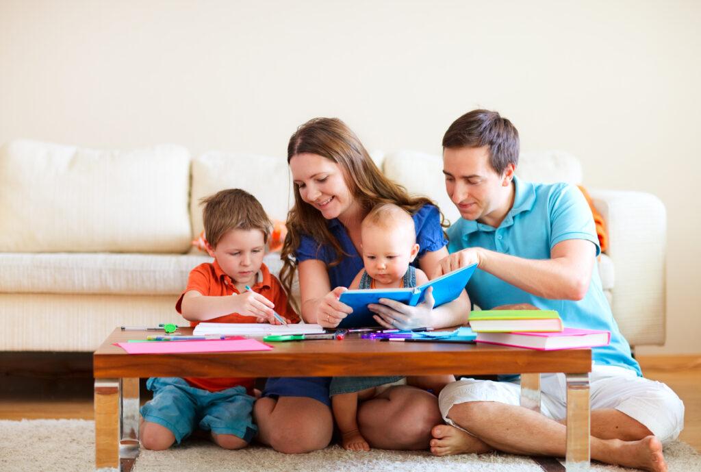 Kindererziehung braucht starke Eltern