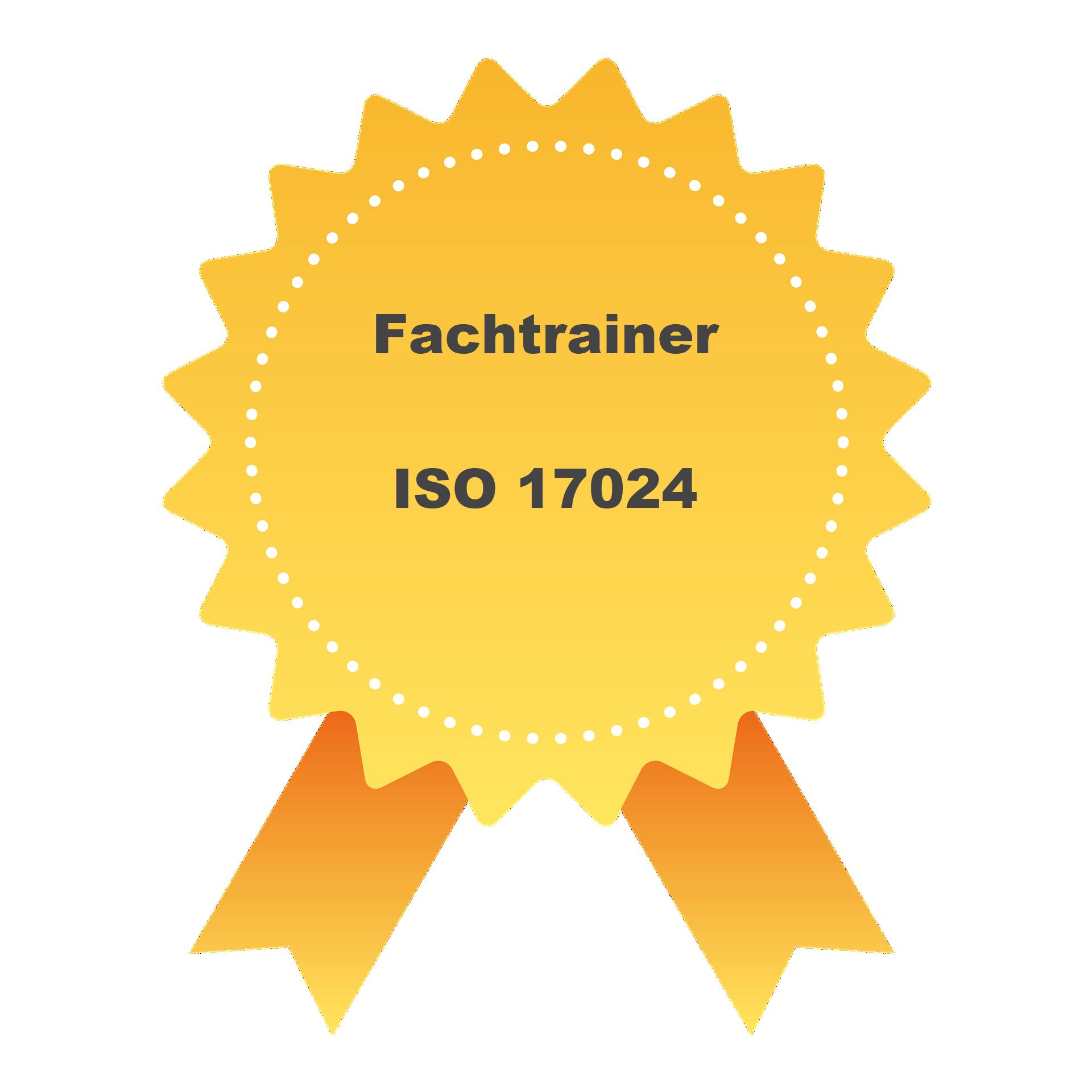 Fachtrainer Zertifikat