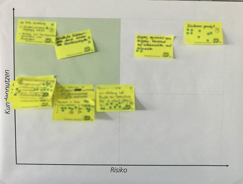 Nutzen-Risiko-Matrix