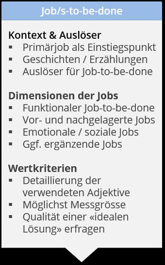 Job/s-to-be-done im Interview erheben