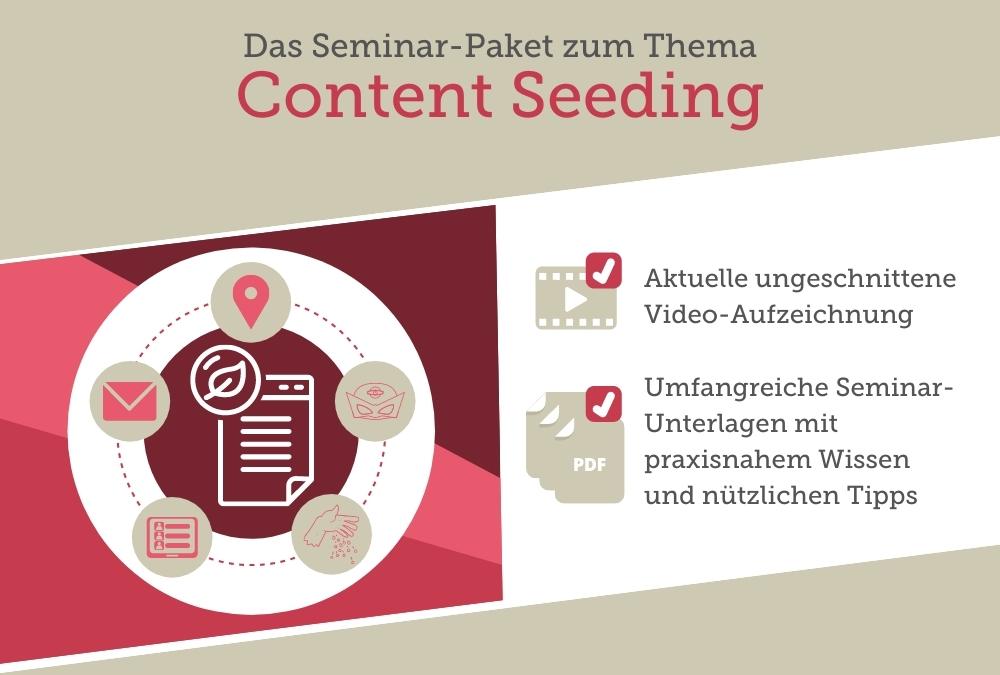 Seminar-Paket: Content Seeding