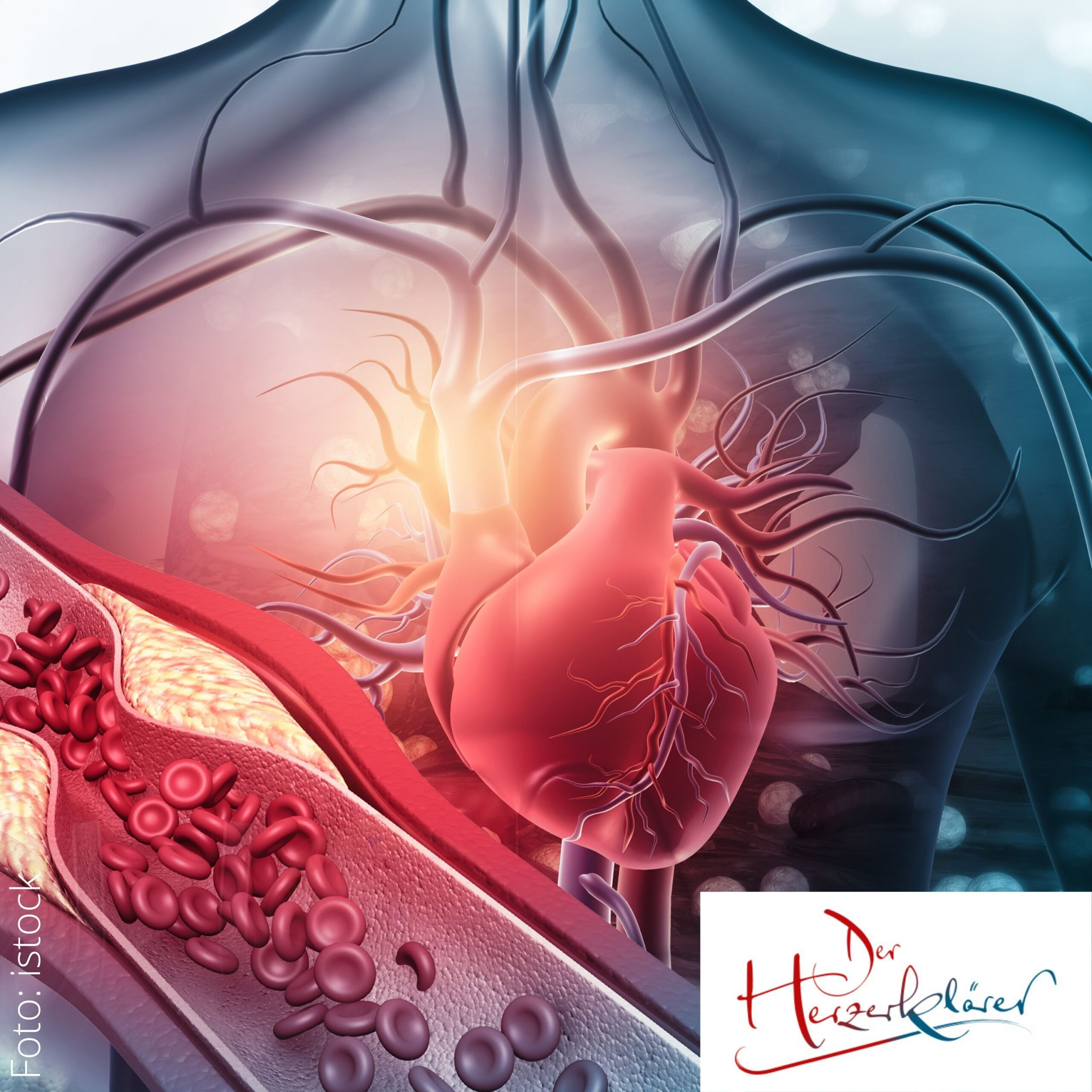 Neuer Podcast: Herzkrank durch seelische Verletzungen