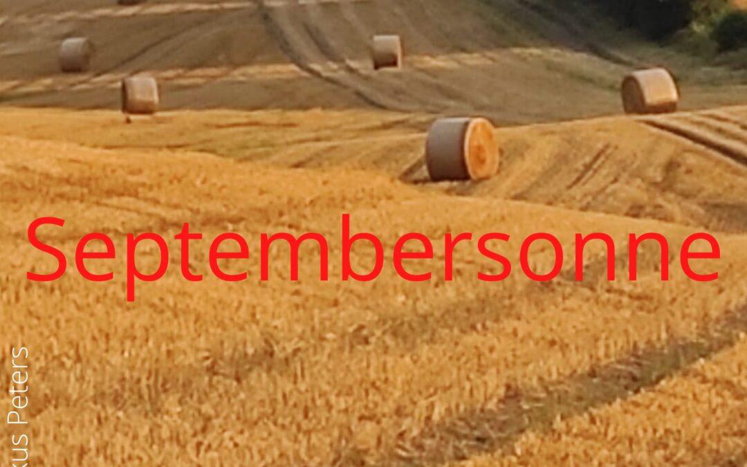 Neuer Podcast: Septembersonne