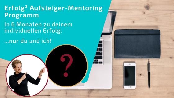 Erfolg² Aufsteiger Mentoring Programm