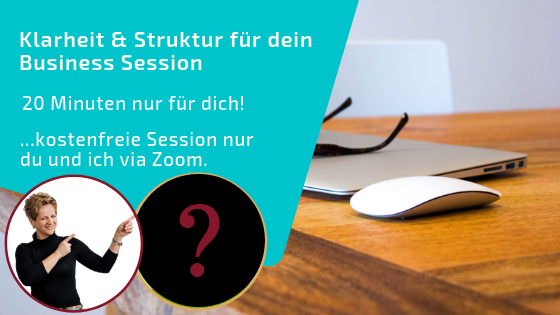100 Klarheit und Struktur Sessions