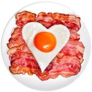 ketogene ernährung bacon und spiegelei