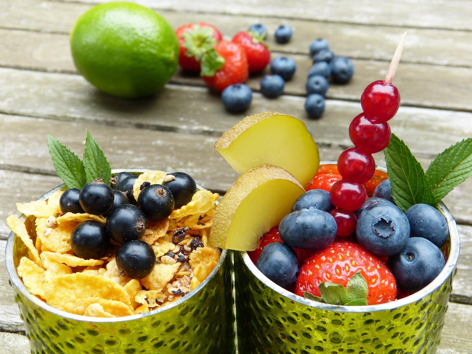 Obst und Gemüse gegen Corona