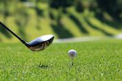 Perfekter-Golfschlag