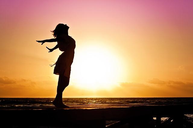 Meditative Medizin und Optimismus