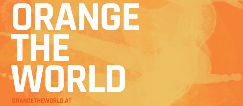 Orange the World /// 25. November – 10. Dezember 2019