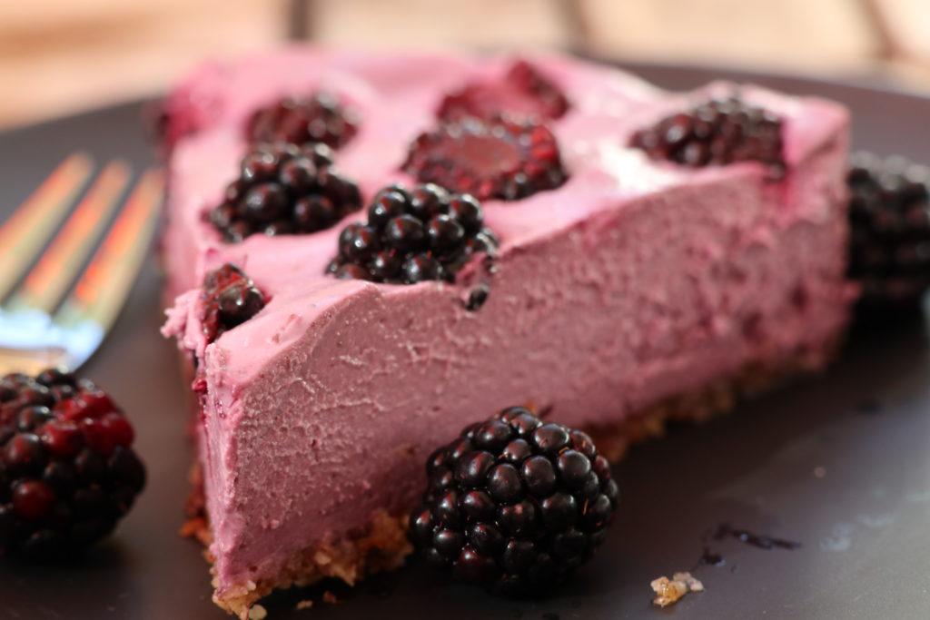 Brombeer Kokos Cheesecake