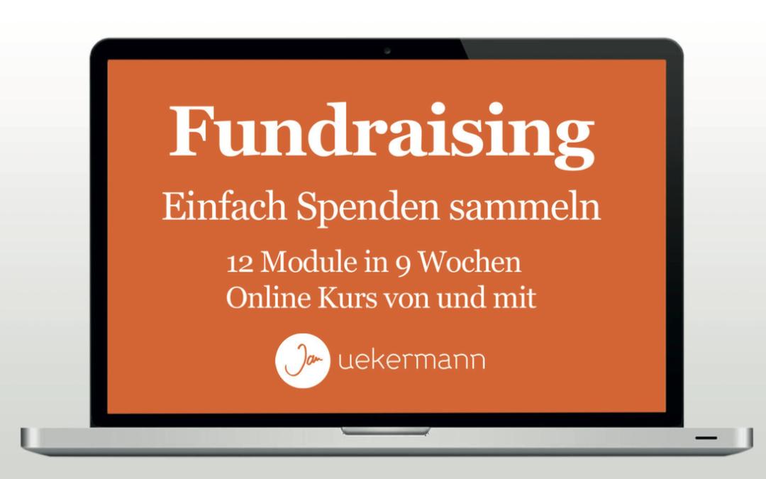 Online Kurs «Fundraising – Einfach Spenden sammeln»