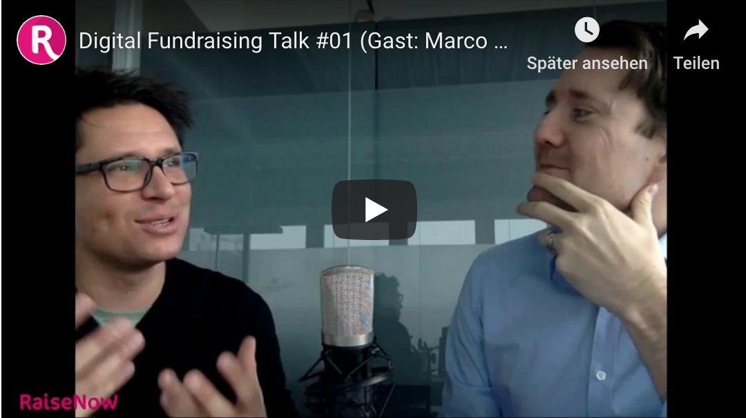 Der erste «Digital Fundraising Talk» von RaiseNow