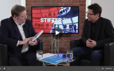 StifterTV: Interview zum Großspenden-Fundraising