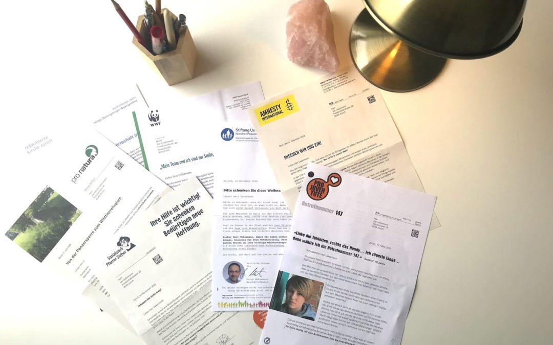 Online Kurs «Spenden- und Dankbriefe schreiben»