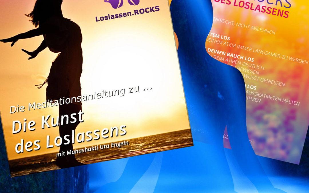 "Meditation ""Kunst des Loslassens"" – Audio-Anleitung (MP3)"