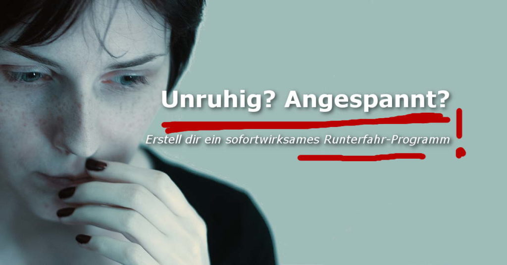 Anspannungs-Runterfahr-Training