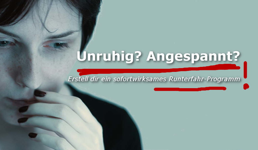 Runterfahr-Training