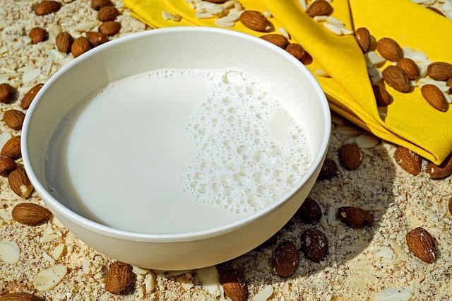 Wie du Pflanzenmilch, wie Mandelmilch selber machen kannst