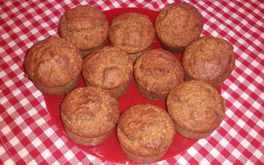 Möhren-Nuss-Muffins