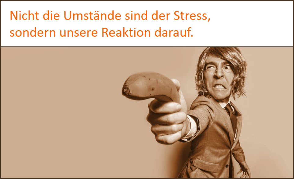 Stress-Symptome durch unsere Reaktion