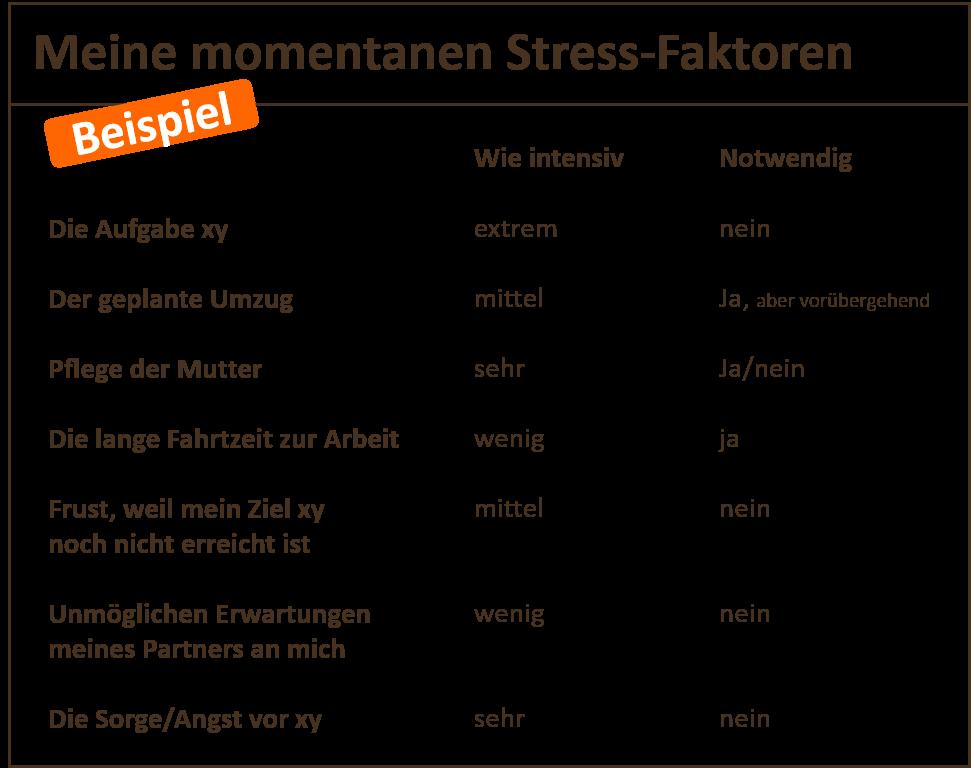 stress reduzieren leicht gemacht