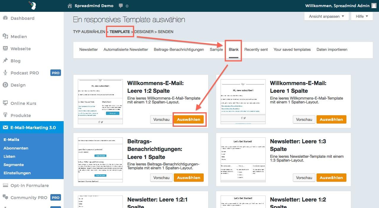 Newsletter Designer | Wie Erstelle Ich Einen Newsletter Support Spreadmind