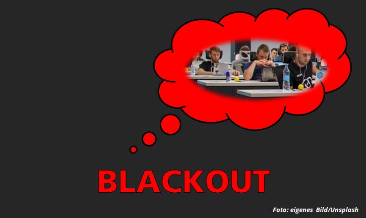 Blackout überwinden – theoretische AEVO-Prüfung