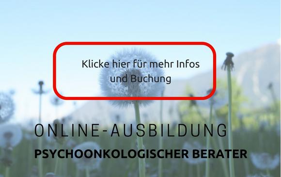 Online-Ausbildung Psychoonkologischer Berater