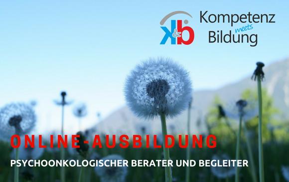 """Die erste ONLINE-Fachausbildung """"Psychoonkologischer Berater und Begleiter"""""""