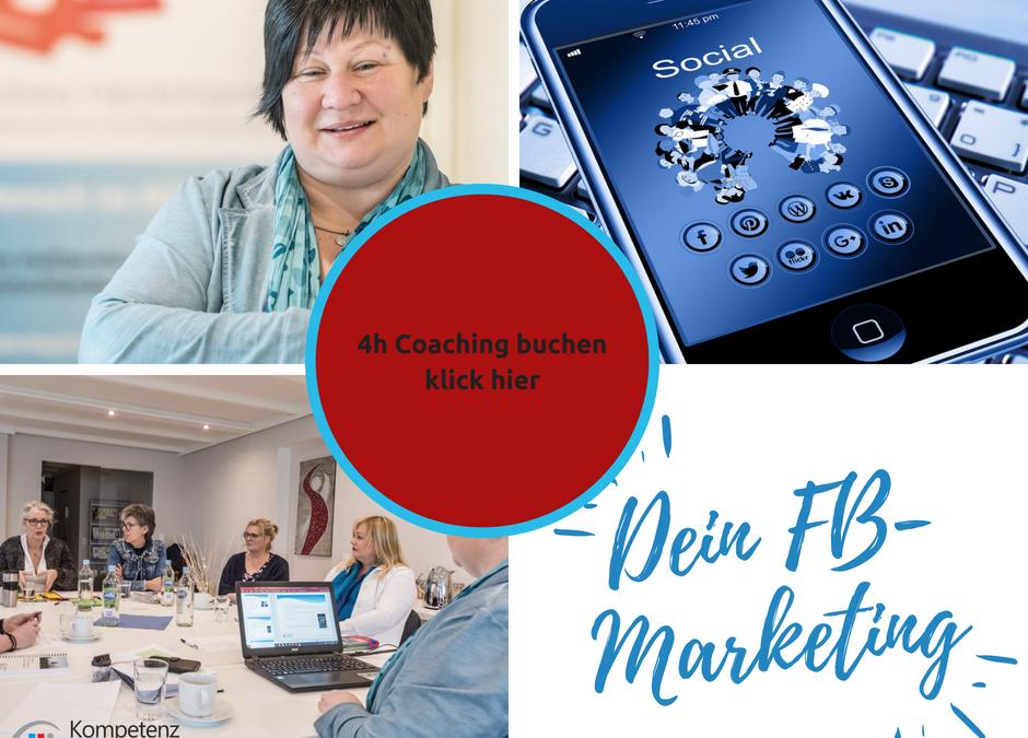 Halbtages Coaching – Dein Facebook Marketing