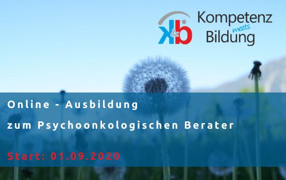 Online-Ausbildung zum Psychoonkologischen Berater und Begleiter – Start 01.09.2020