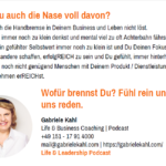 Gabriele Kahl | Life & Leadership