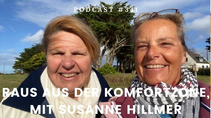 Raus aus der Komfortzone, mit Susanne Hillmer | Deine persönliche Bestform | Gabriele Kahl