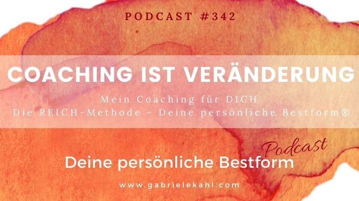 #342 Coaching ist Veränderung