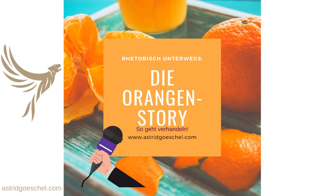#Folge 45 – Wie geht verhandeln? Warum uns Orangen hier wirklich weiterhelfen!