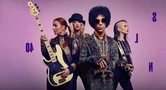 Videoanalyse TV-Auftritt von Prince 2014