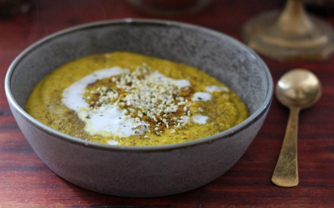 Herbstliche Tridosha Mangold Suppe