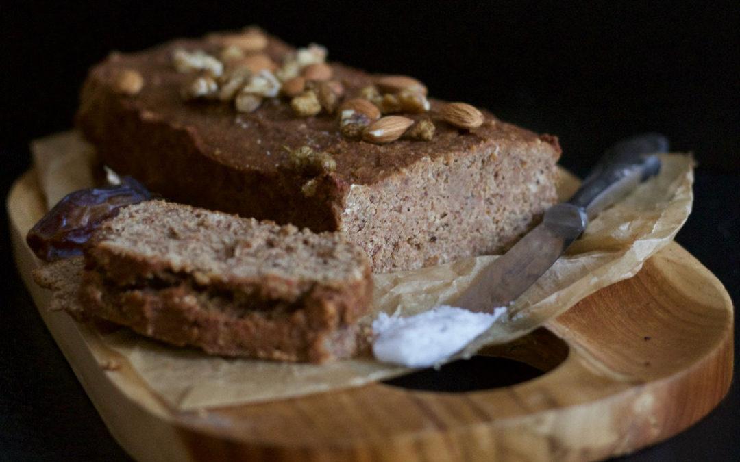 Bananen Brot – glutenfrei, vegan und zuckerfrei