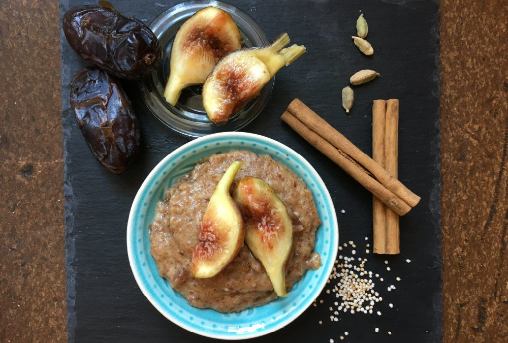 Mandel-Amaranth Porridge