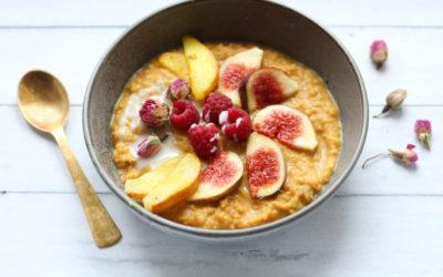 Goldenes Power Porridge