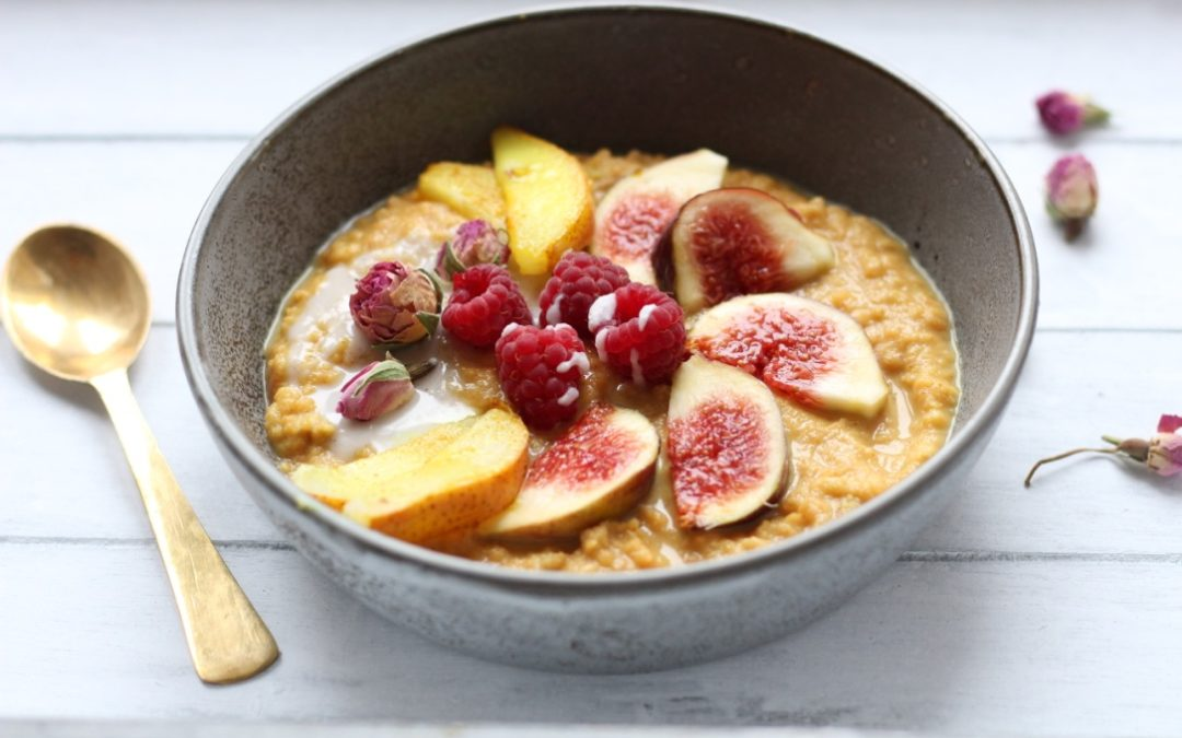 Rezept: Goldenes Power Porridge
