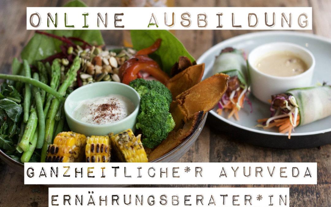 Online Ausbildung zum/r ganzheitlichen Ayurveda-ErnährungsberaterIn