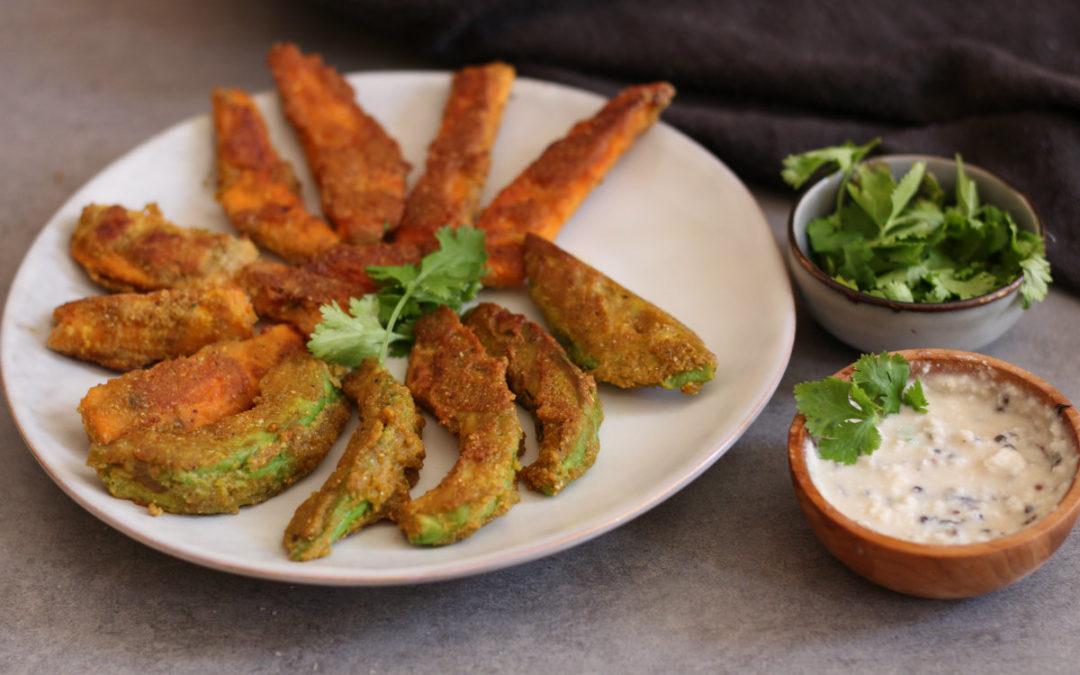 Avocado Pakora Ayurveda Style