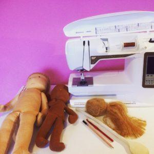 in meiner Puppenwerkstatt